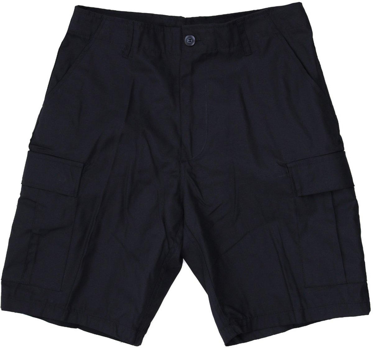 Fostex combat short zwart kopen