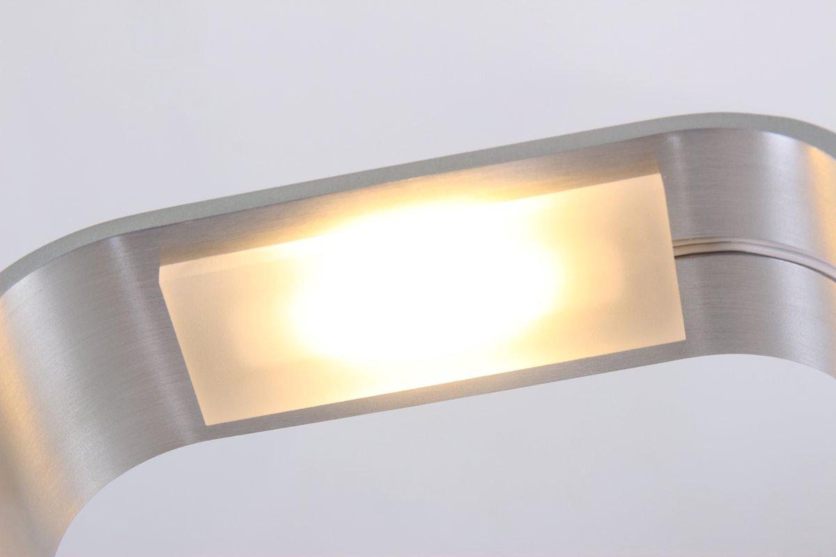 Bol moderne tafellamp steinhauer cascade staal led