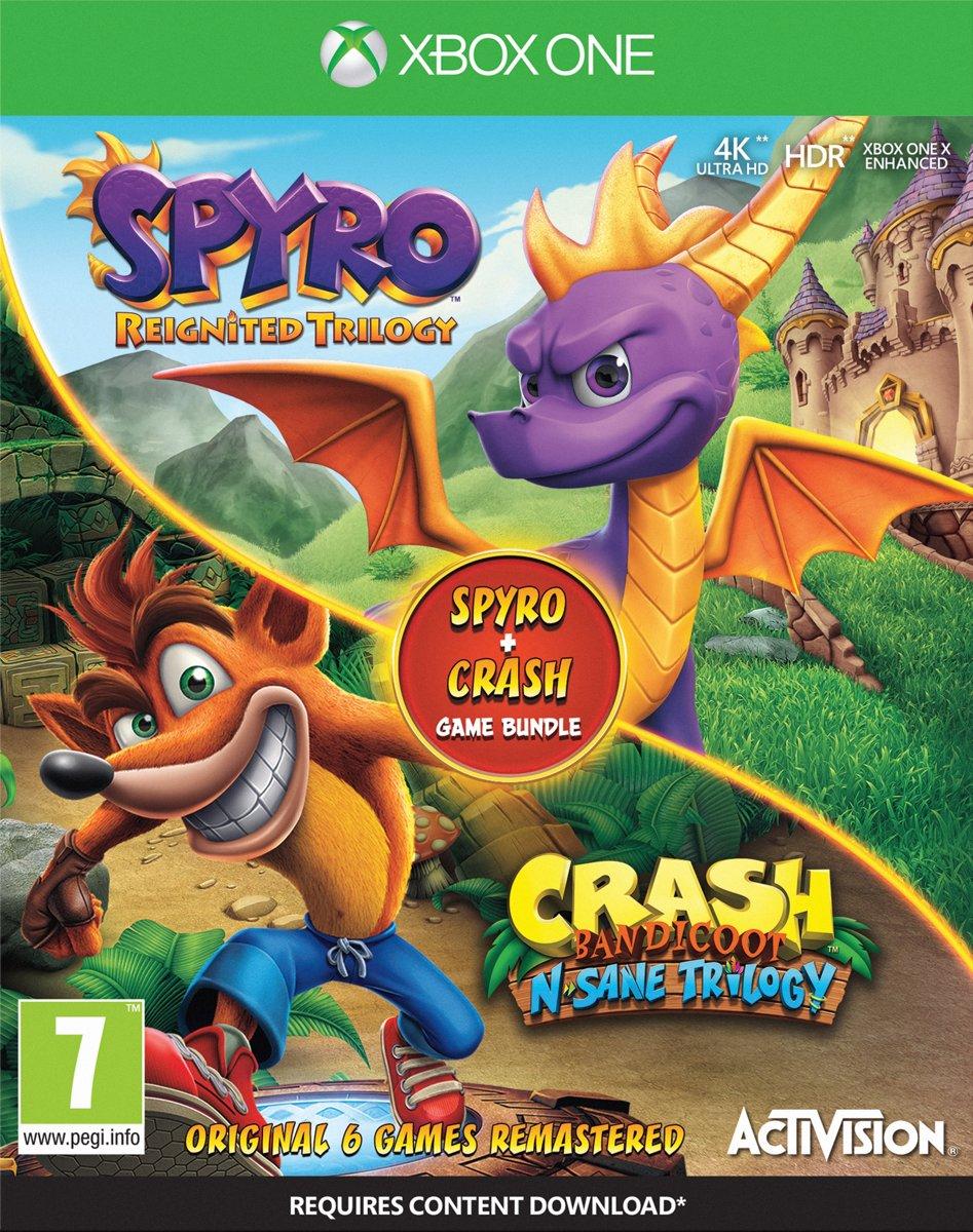 Crash & Spyro Bundel Pack Xbox One