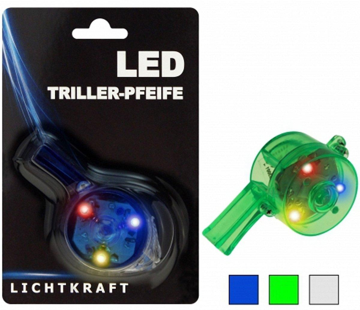 Fluitje met licht  transparant kopen