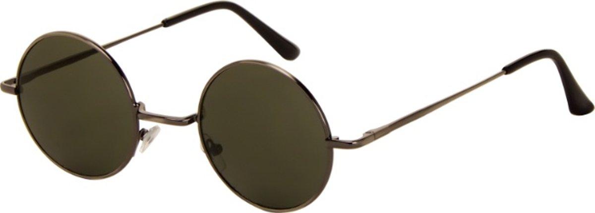 Az-eyewear Zonnebril Rond Unisex Grijs (azb-051) kopen