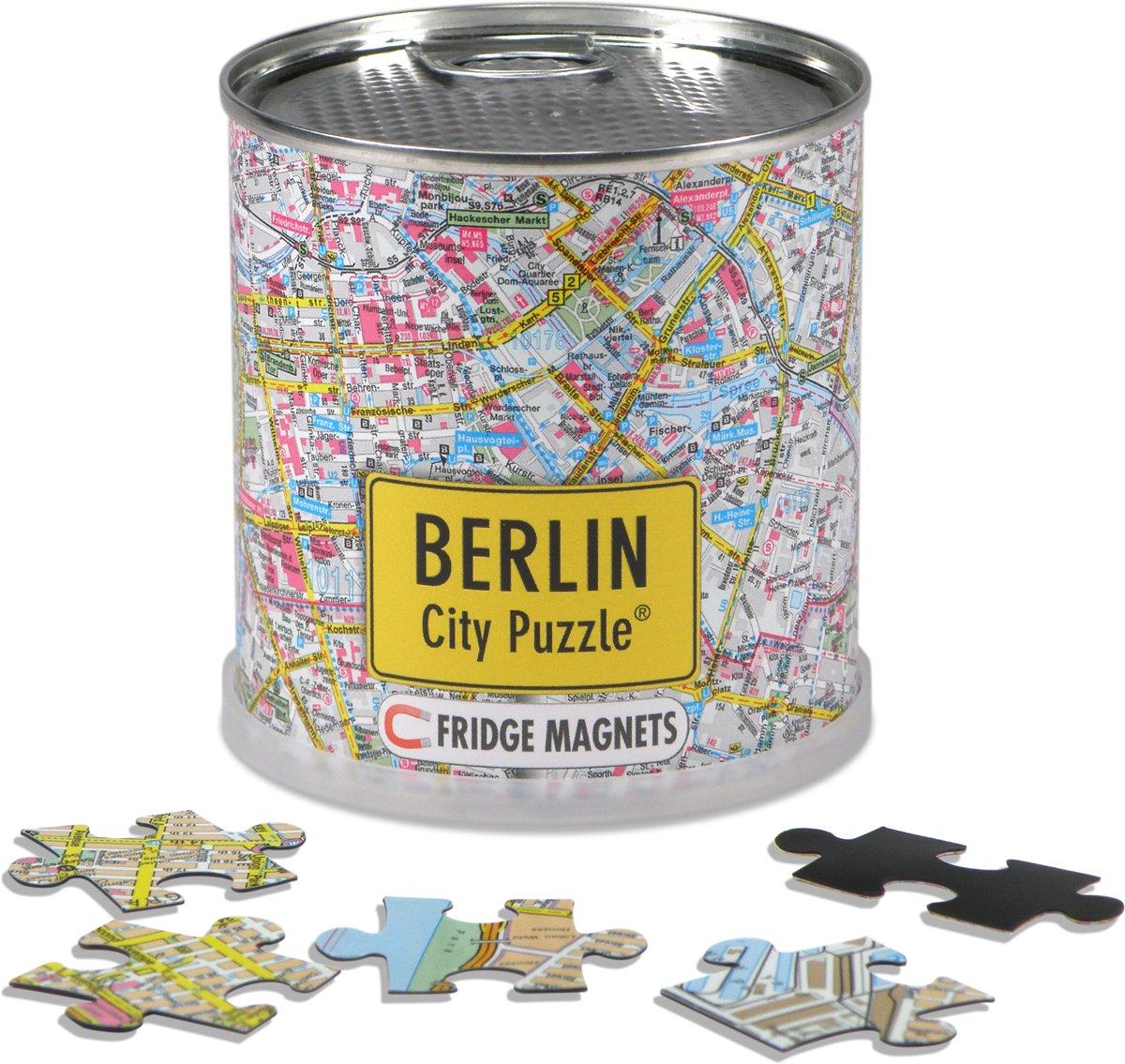 City Puzzle Berlijn - Puzzel - Magnetisch - 100 puzzelstukjes