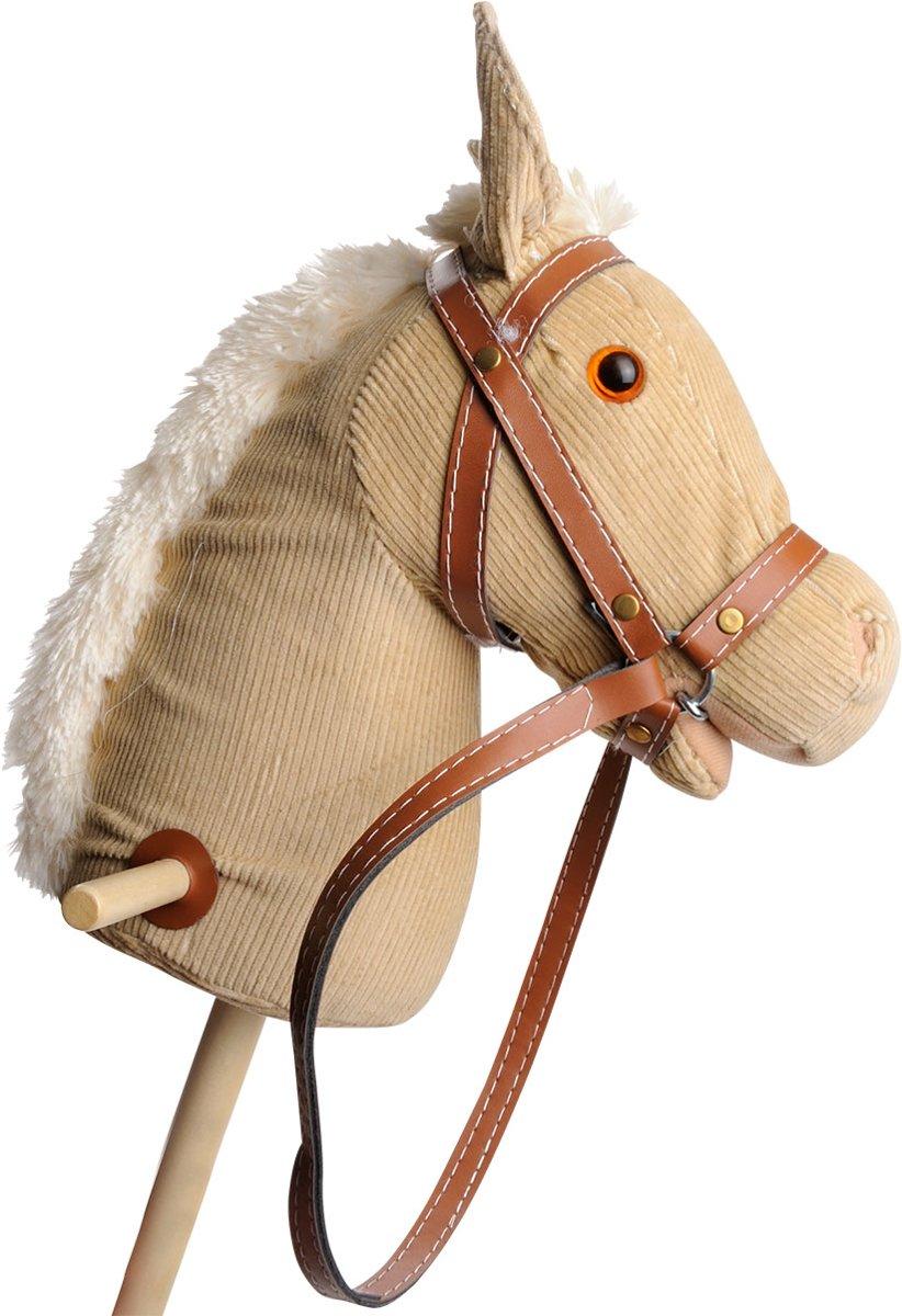 Playwood - Stokpaard beige rib met geluid - corduroy