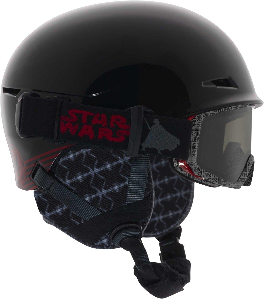 Anon Jongens Skihelm met skibril - Define Darth Vader L kopen
