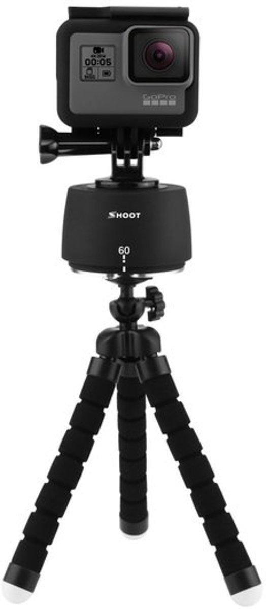 GadgetBay Time Lapse 360 graden Motion Pan Tripod draaiend statief GoPro DSLR iPhone telefoon kopen