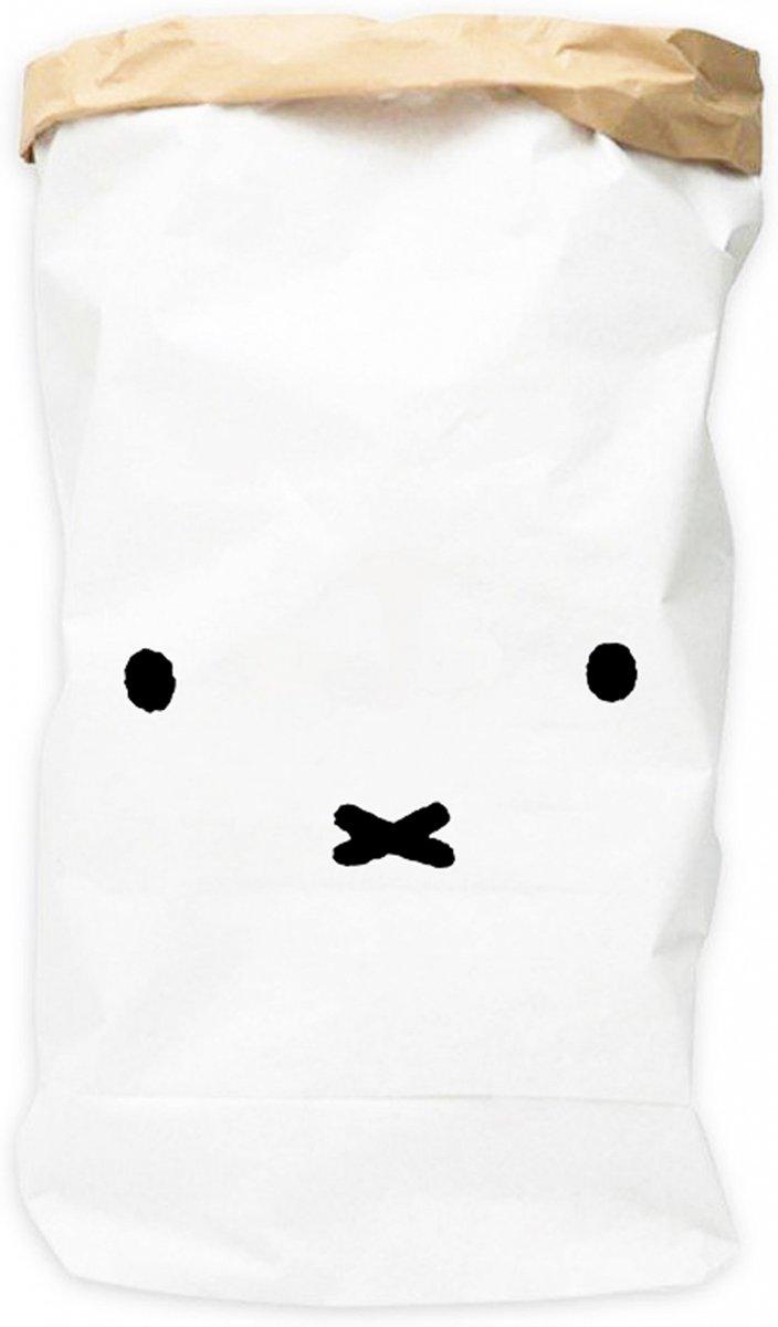 Nijntje Papieren Opbergzak wit 50 X 70 cm