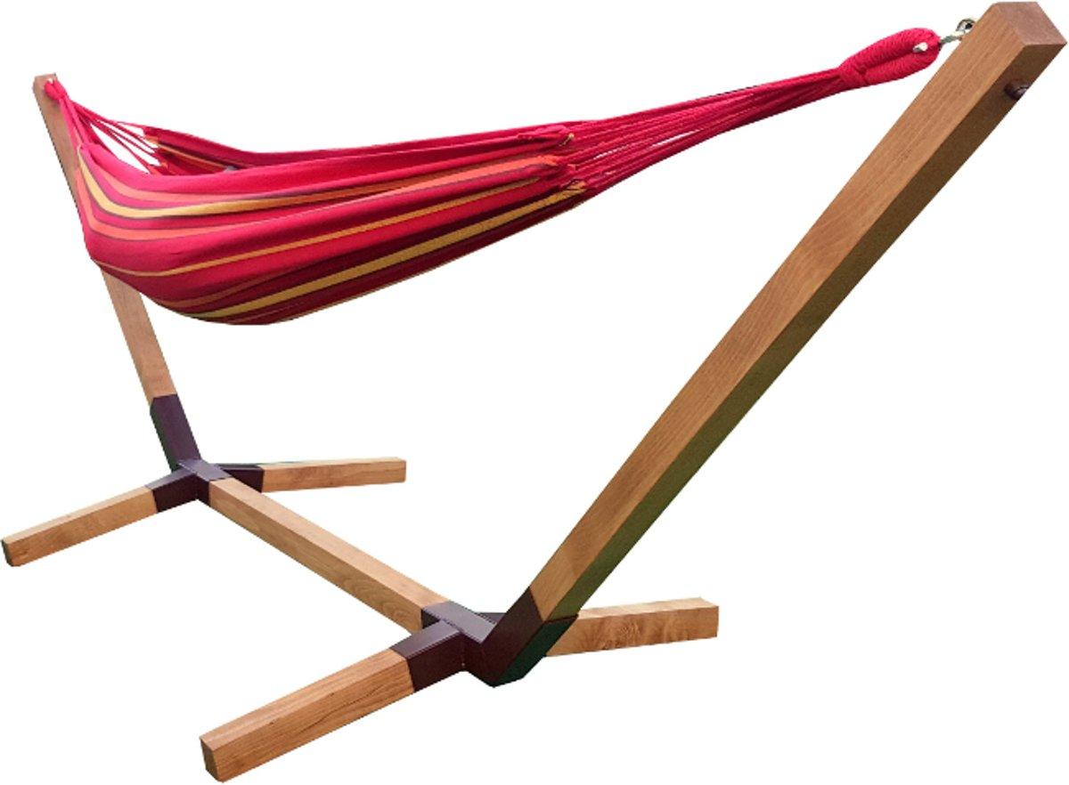 'Motyl' Eenpersoons Hangmatset / Hangmat met standaard - 120kg draadvermogen