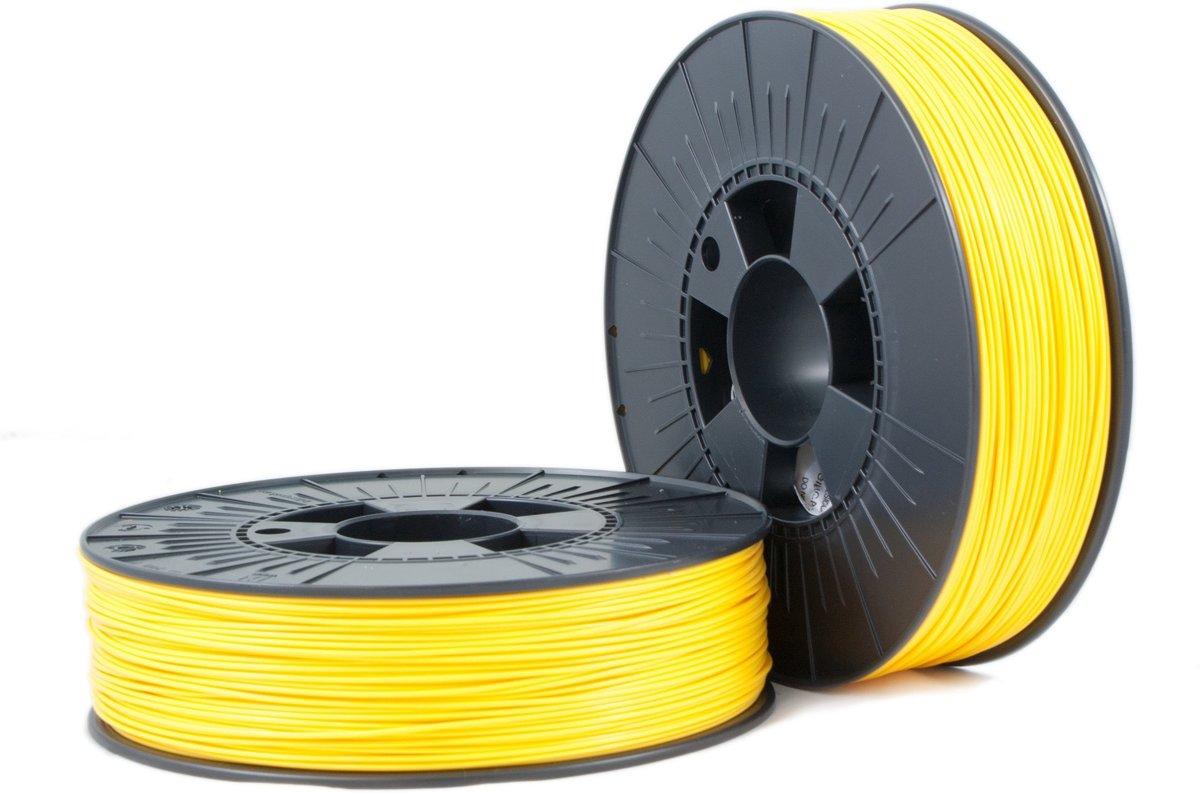 PLA 1,75mm yellow ca. RAL 1023 0,75kg - 3D Filament Supplies