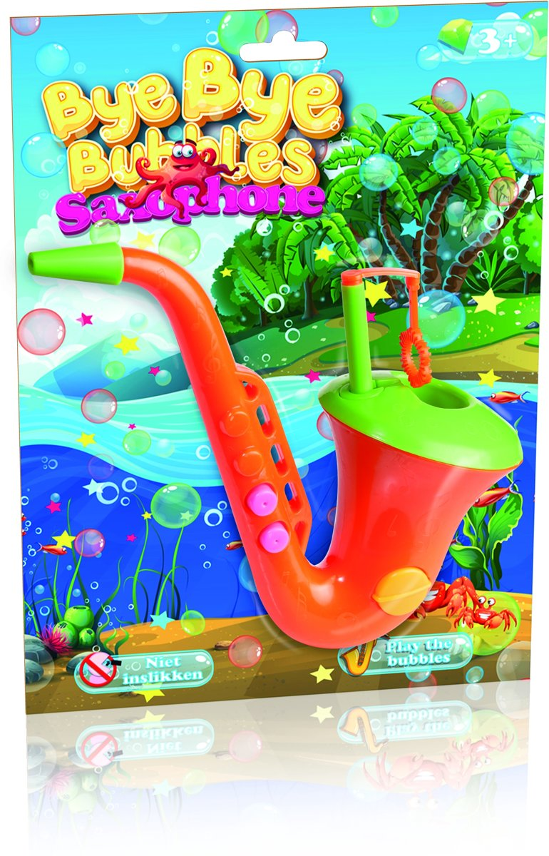 Bubble Saxophone