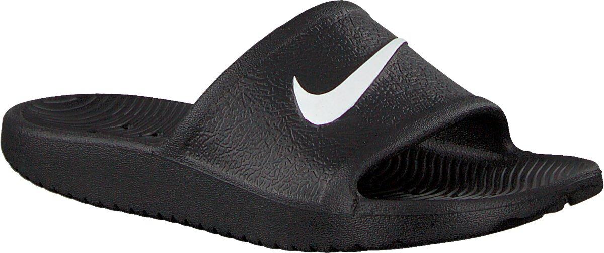 ffb970c1610 bol.com | Nike Meisjes Slippers Kawa Shower (gs/ps) - Zwart - Maat 31