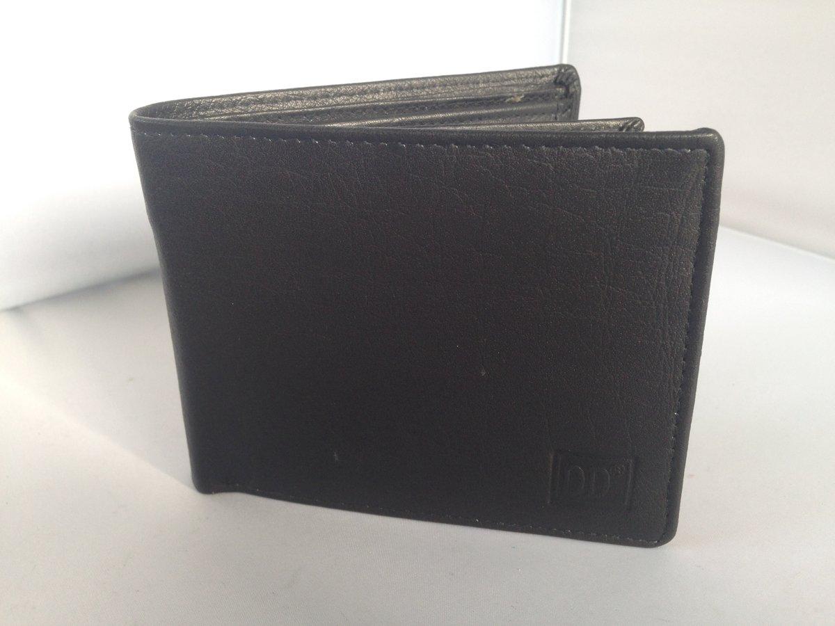 a7ea5e358fb bol.com | ACTIE - LeonDesign - 01C121 - portemonnee - zwart - leer