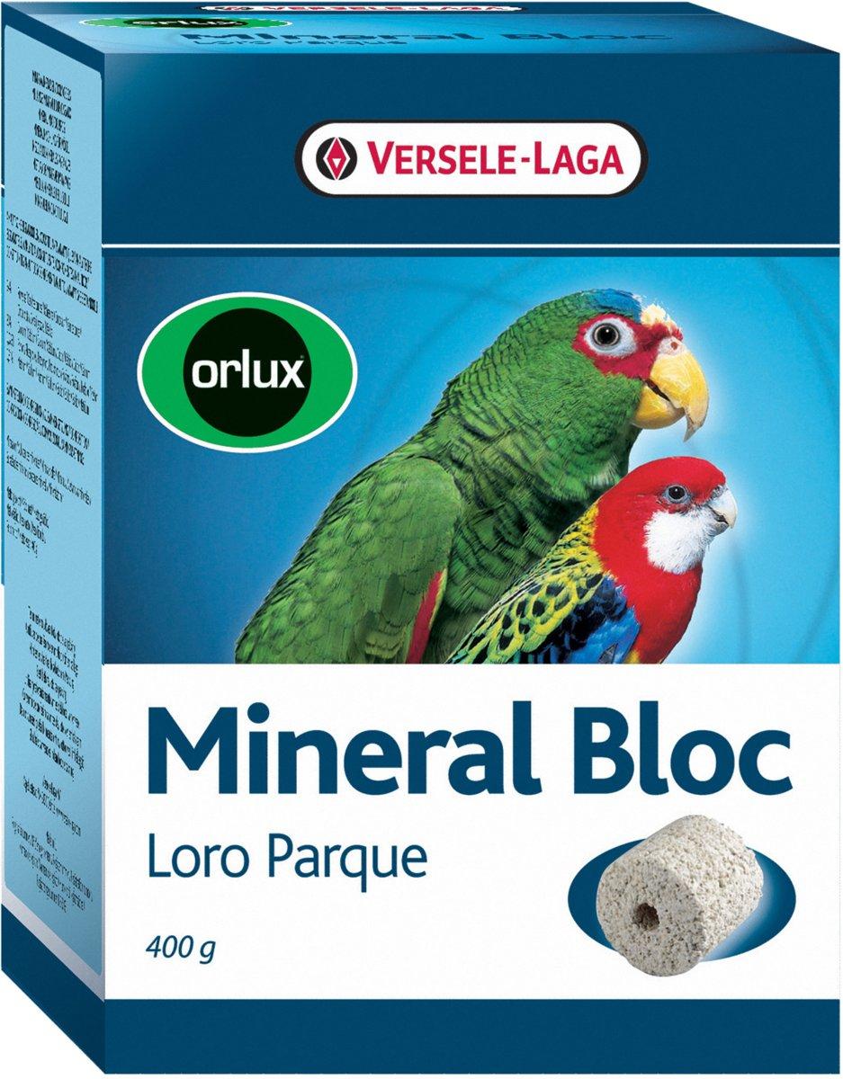 Orlux Mineraal Blok Grote Parkiet 400 Gr kopen