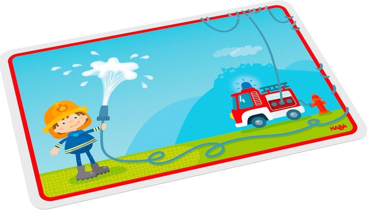 Haba Broodplank Brandweerman 14,5 X 23,5 Cm