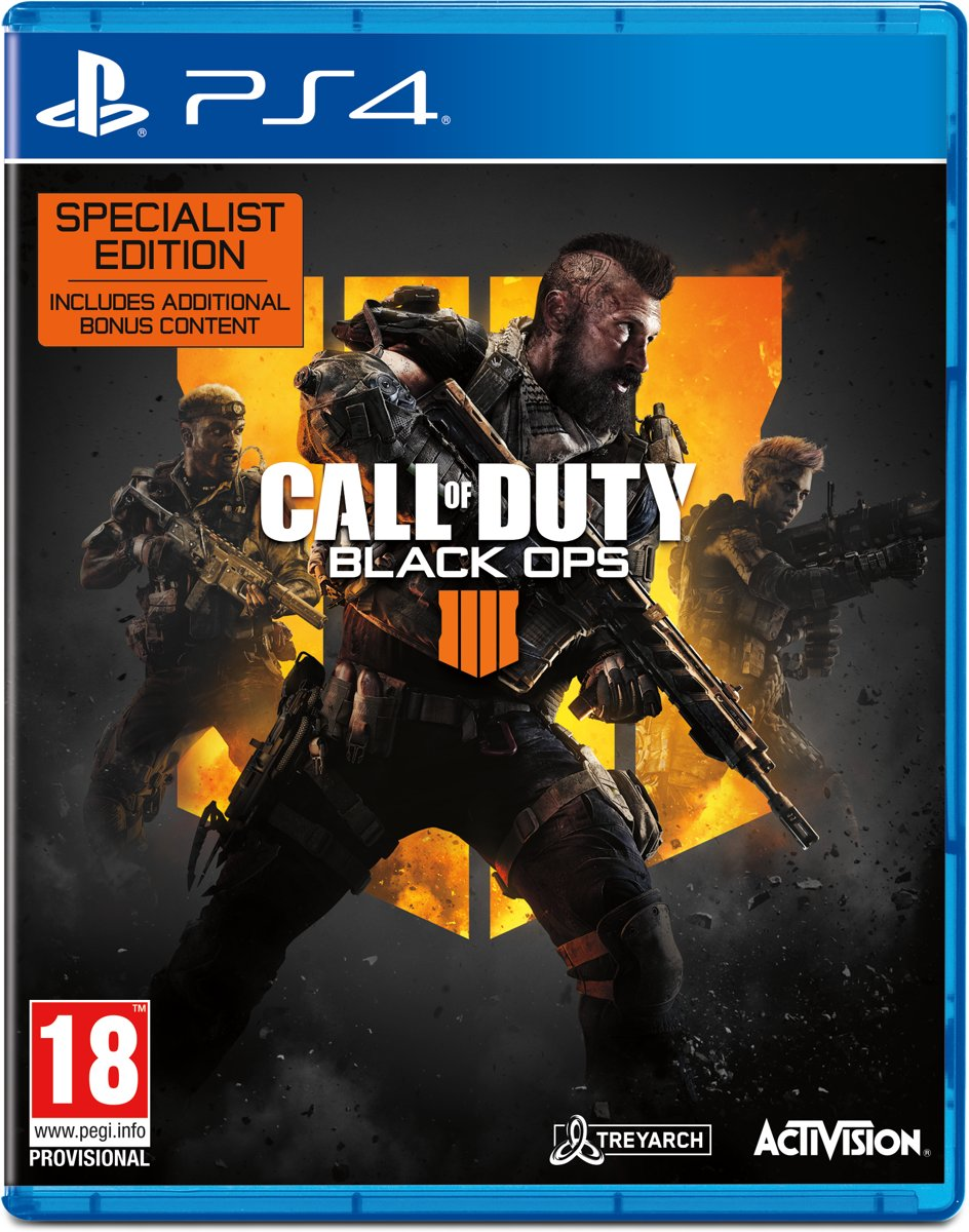 Call of Duty: Black Ops 4 - Specialist Edition PlayStation 4