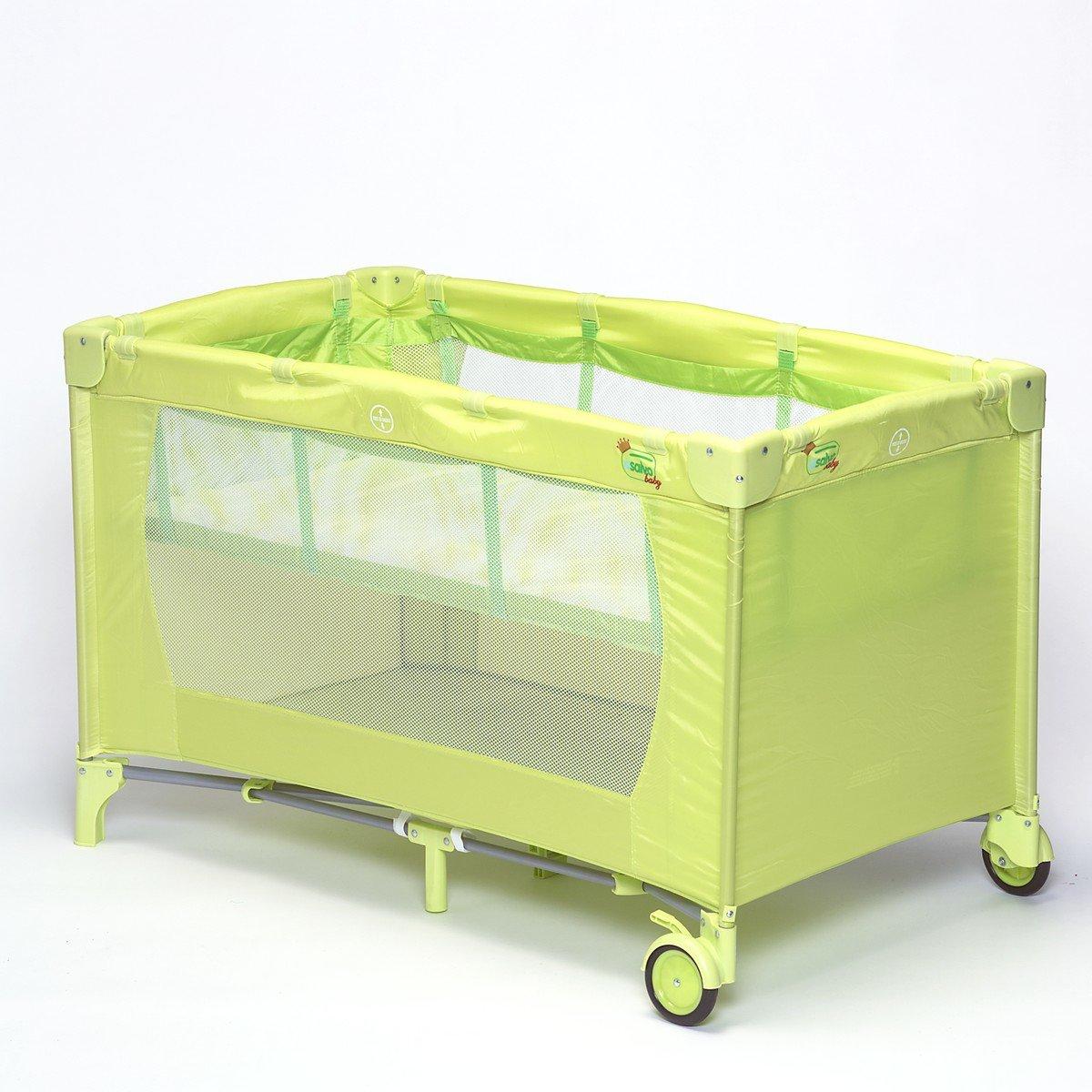 Campingbedje Lime Groen.Bol Com Titaniumbaby Campingbed Lime