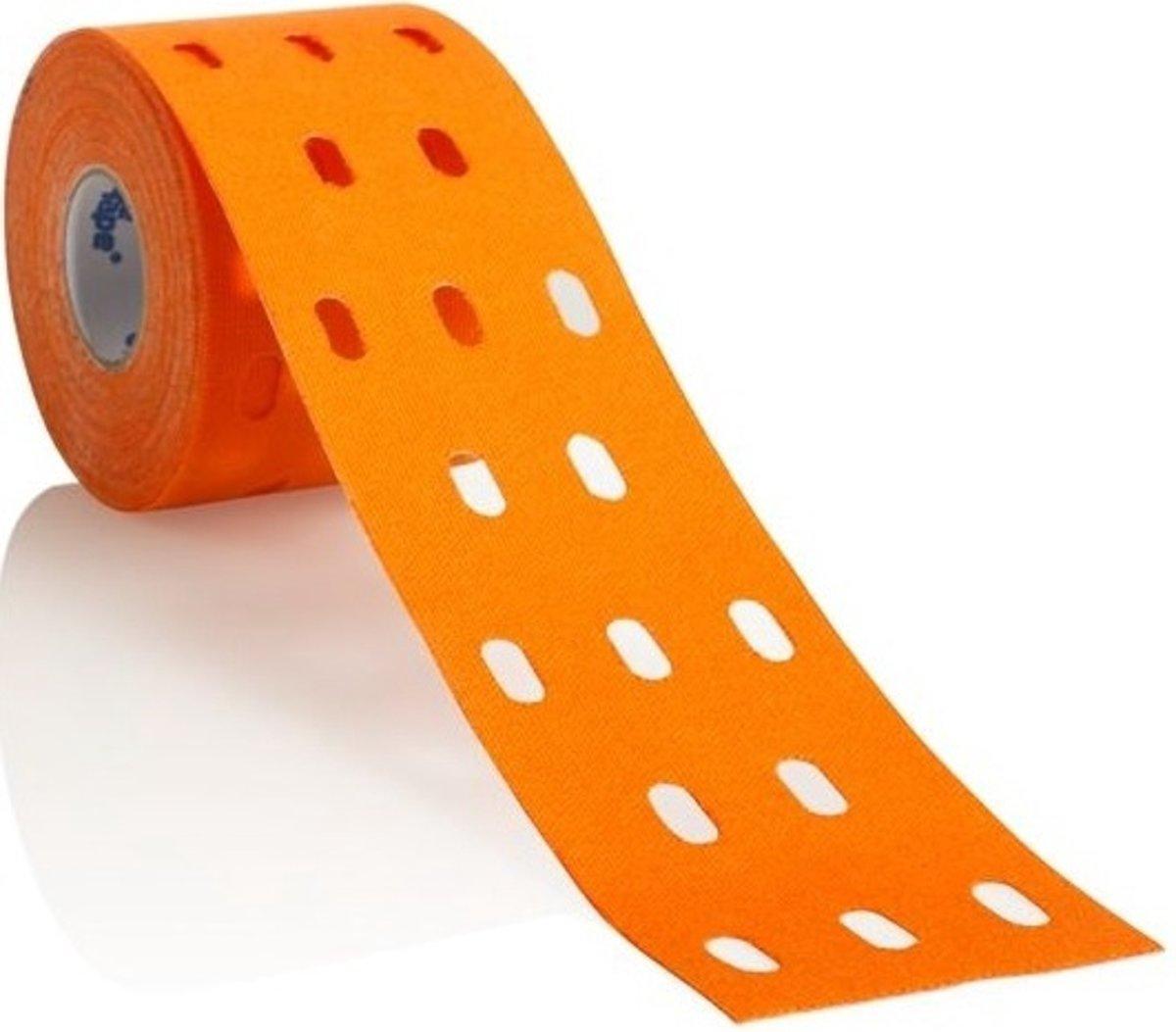 Cure Tape Sporttape Punch Professioneel Oranje Rol kopen