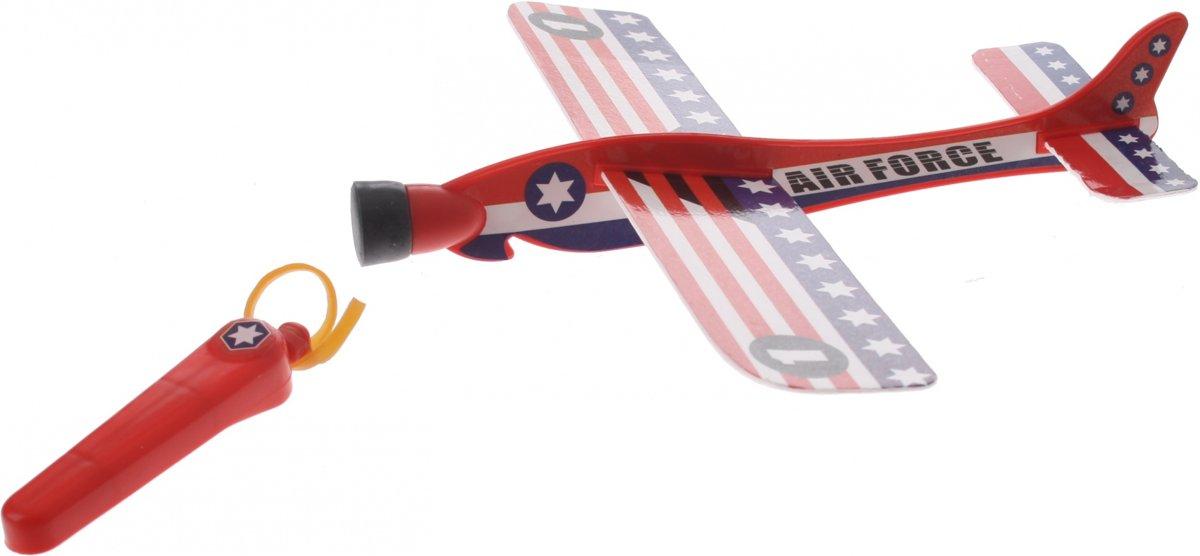 Eddy Toys Katapult Vliegtuig Usa Air Force 20 Cm