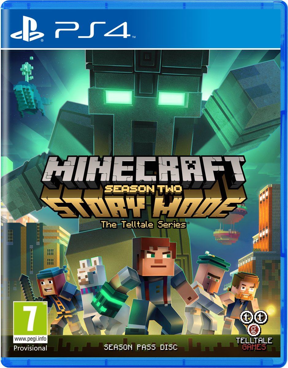 Minecraft - Story Mode: Season 2 PlayStation 4