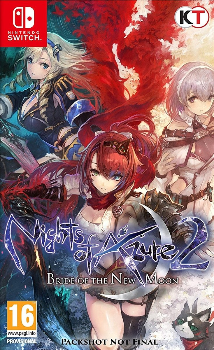 Nights of Azure 2: Bride of the New Moon Switch