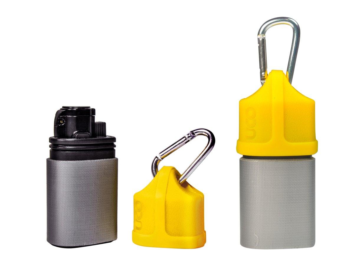 UCO Stormproof tourch and utility tape - storm aansteker met tape - geel kopen