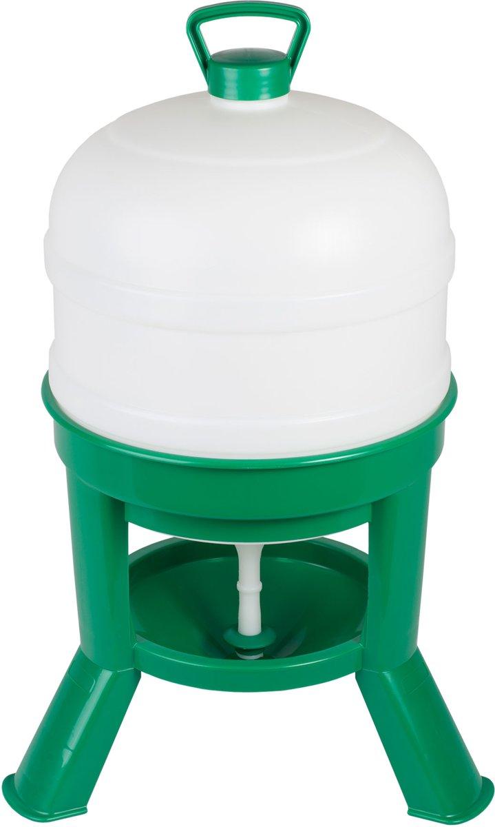 Drinker Siphon 20ltr. plastic groen