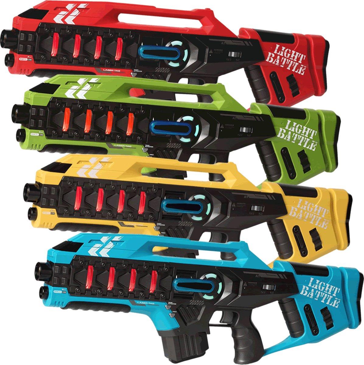 4 Light Battle Anti-Cheat Lasergame geweren