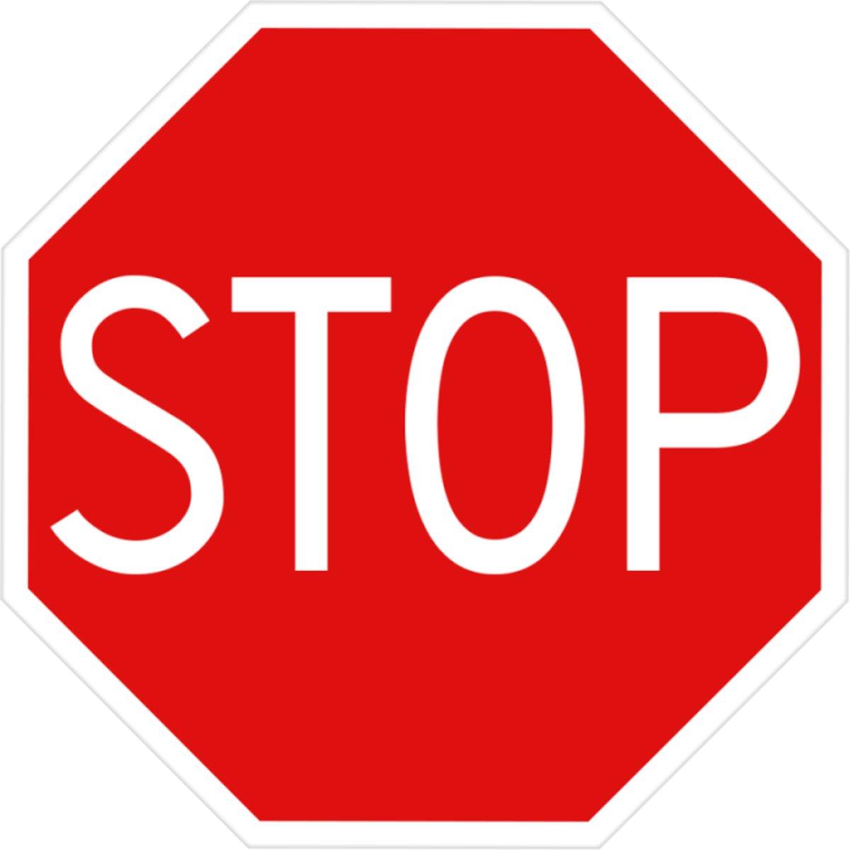 Verkeersbord Stop kopen