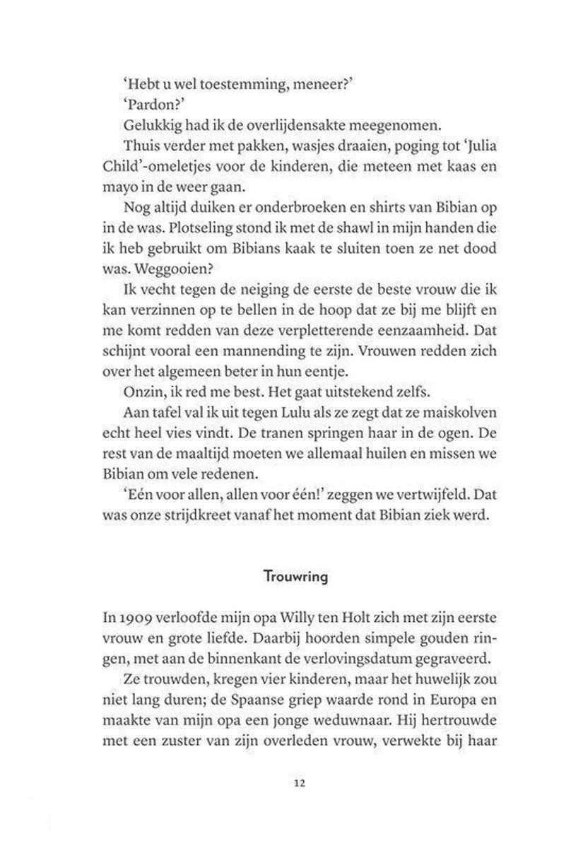 Bol Com De Complete Weduwnaar Klaas Ten Holt