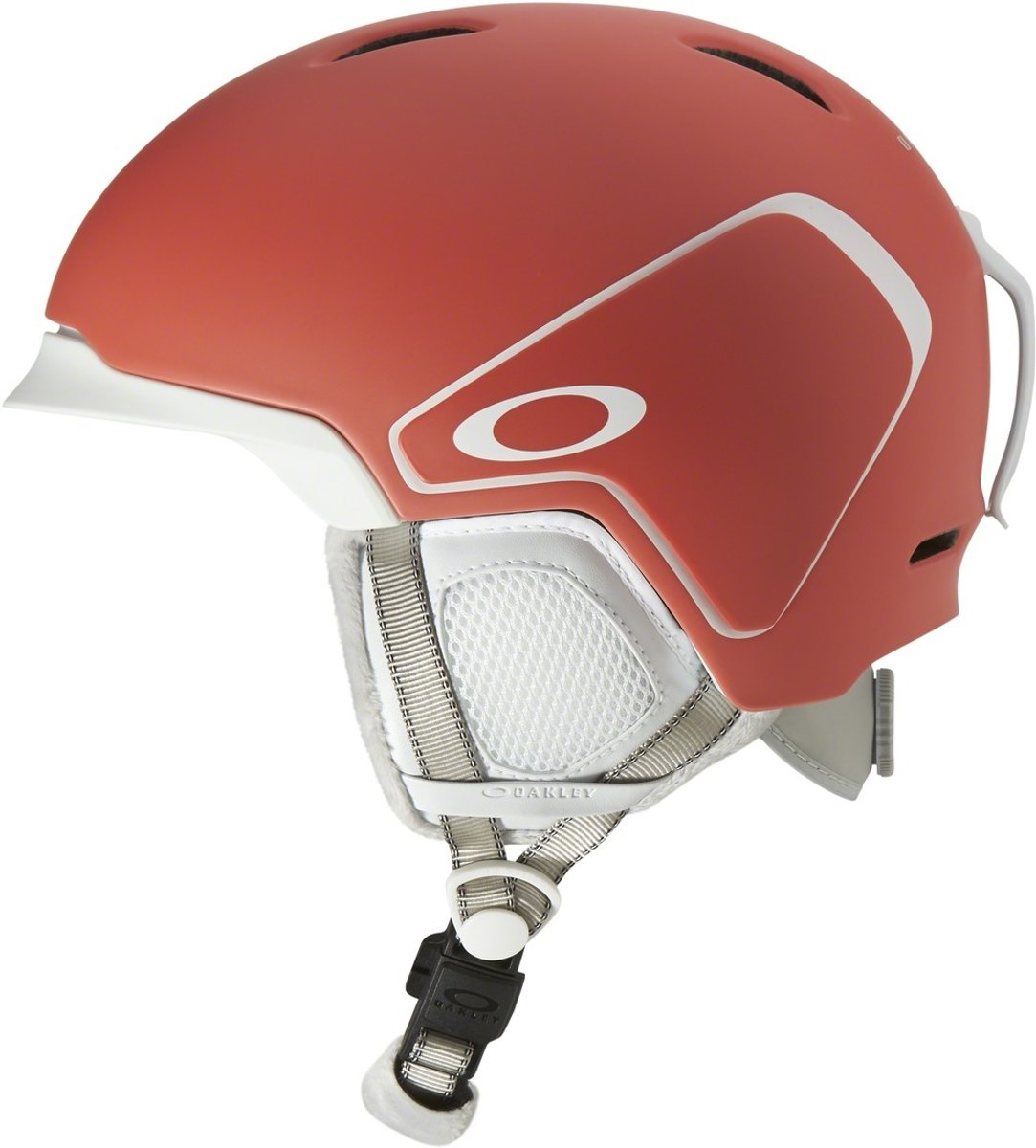 Oakley MOD3 Snow Helmet - Matte Neon Coral kopen