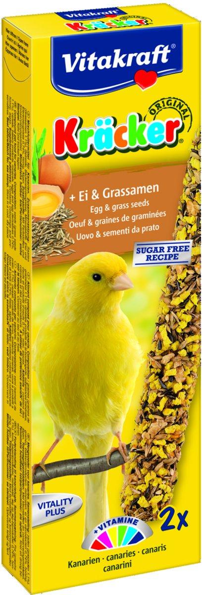 Vitakraft Kanarie Kracker Ei - Vogelsnack 2 in 1 (10x) kopen