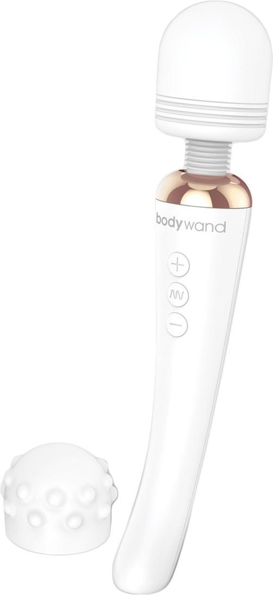 Foto van Bodywand Curve Oplaadbare Wand Massager - Wit