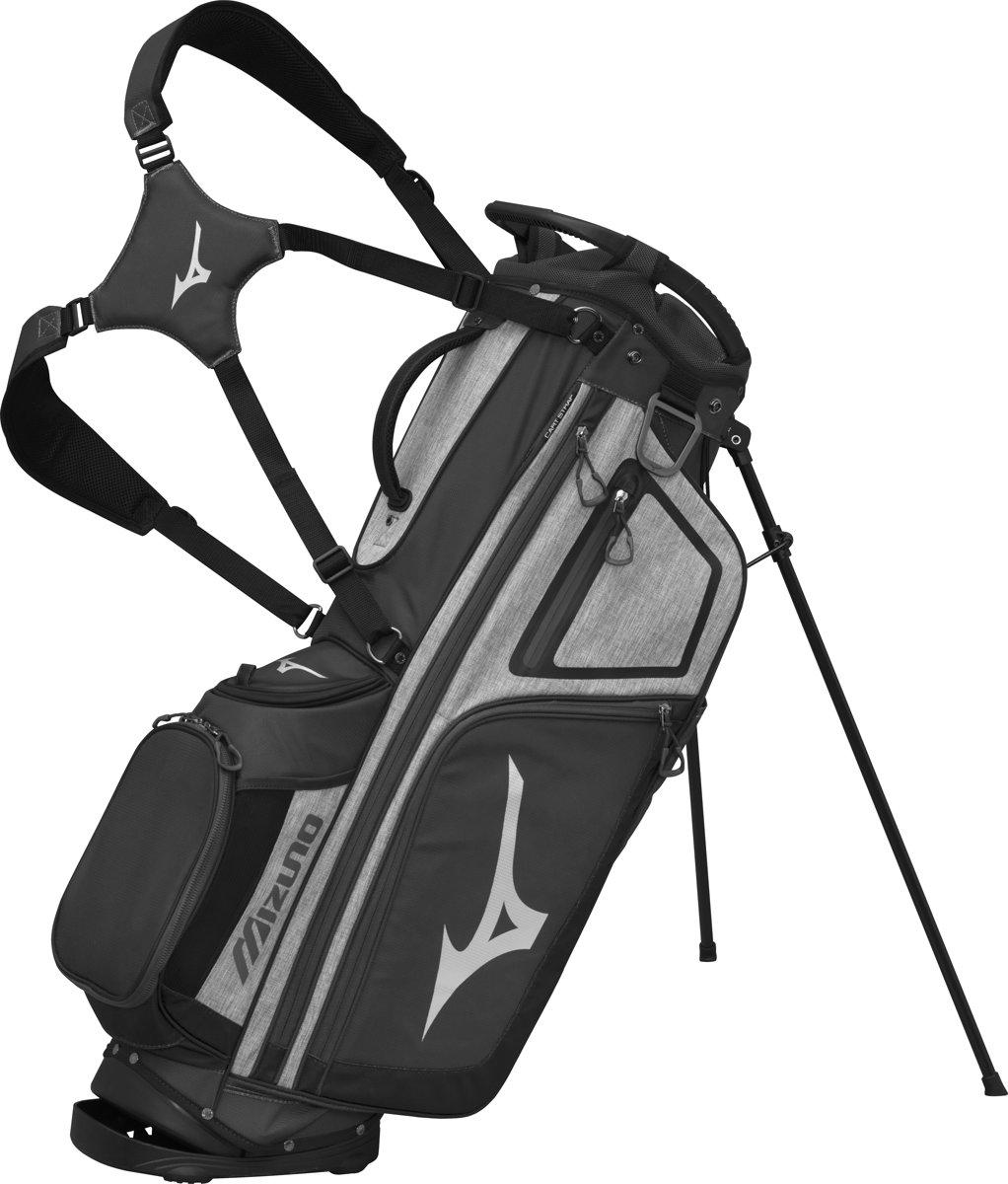 Mizuno golftas - BRD-4 Standbag - grijs/zwart kopen