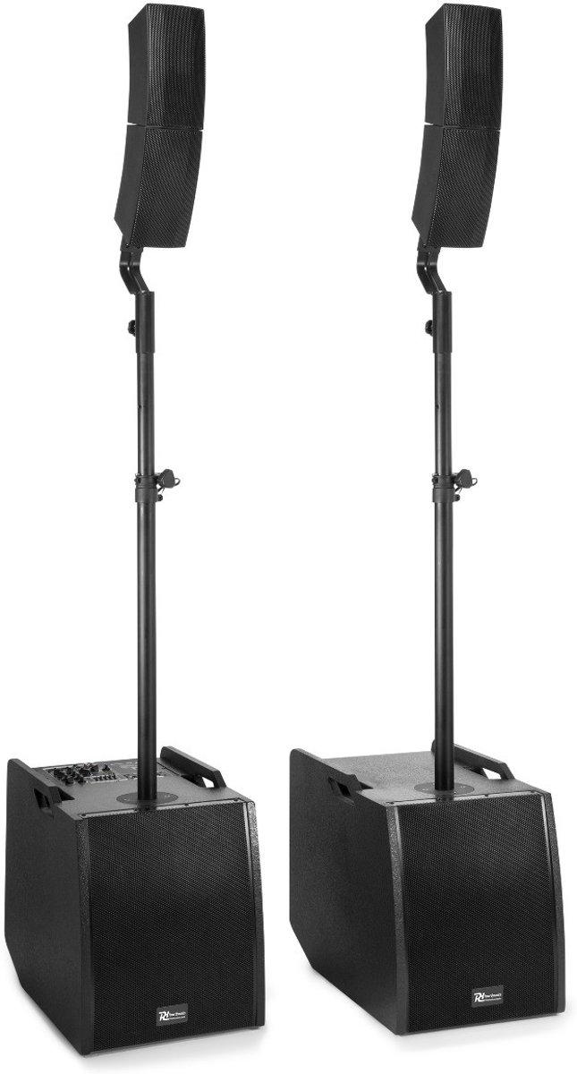Geluidsinstallatie - Power Dynamics PD1212 actieve geluidsinstallatie 800W met Bluetooth en mixer kopen