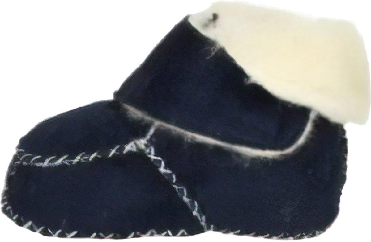 Playshoes babyslofjes klittenband marine kopen
