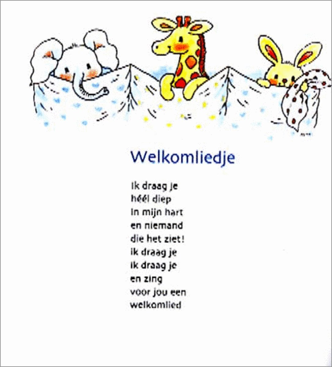 Welp bol.com   Dag lief, nog niet geboren kind, Ina Sipkes de Smit RZ-51