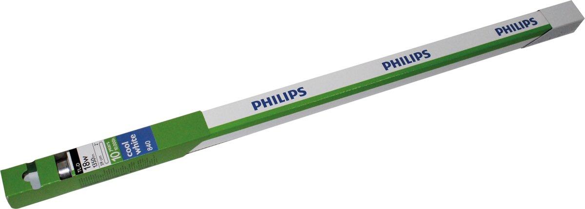 Philips TL-D 18W/840 1PP/10 18W G13 A Koel wit fluorescente lamp kopen