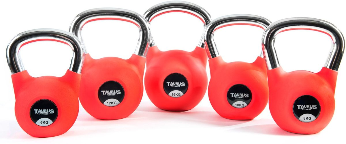 Taurus Premium Kettlebell Special Edition 10 kg kopen