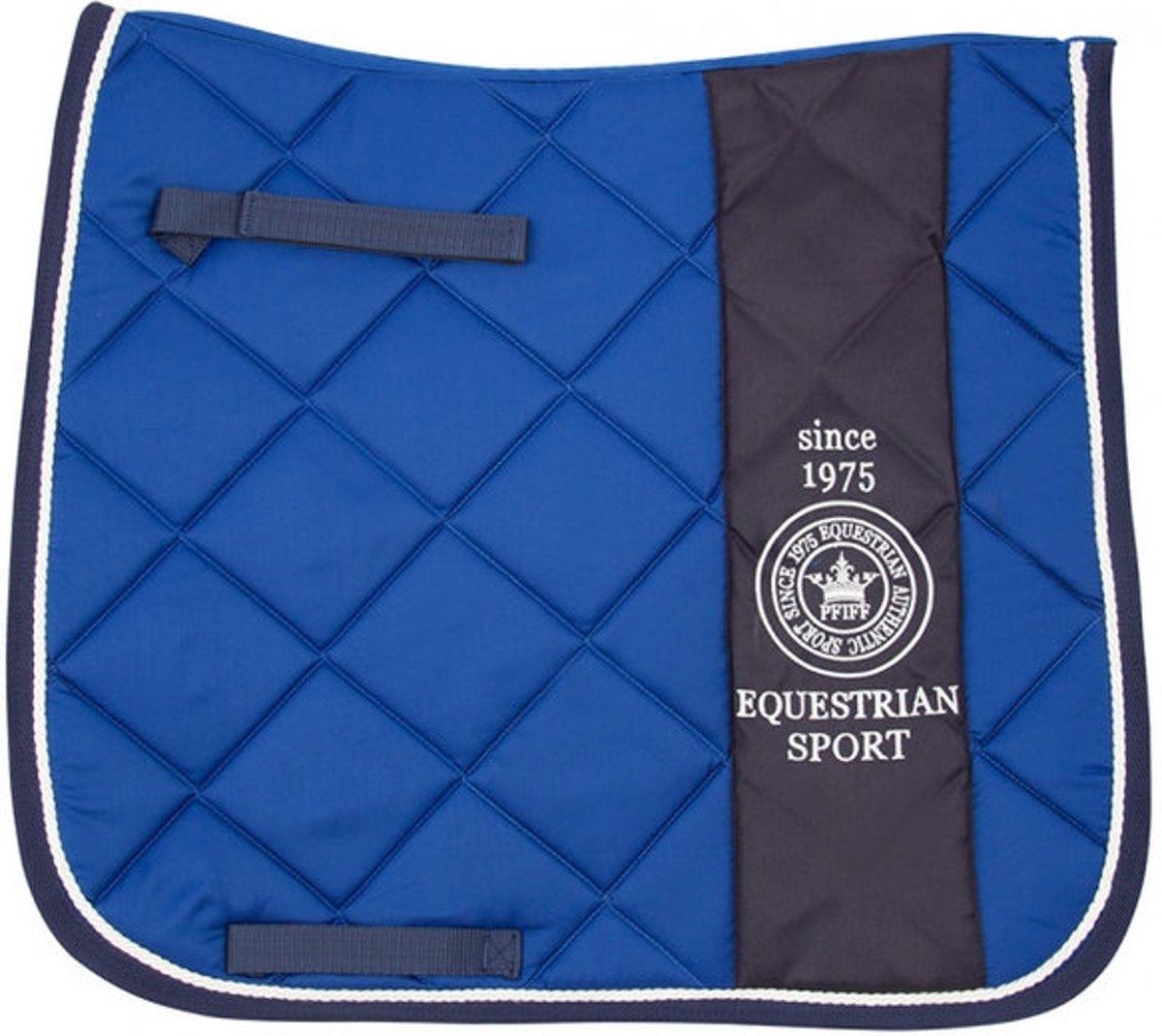 PFIFF DR-dekje Grein dressuur FULL Middelblauw kopen