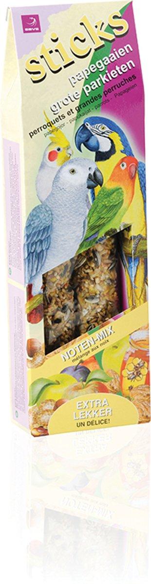 Esve Papegaai Sticks Notenmix - 3 St à 214 gr - Vogelsnack kopen