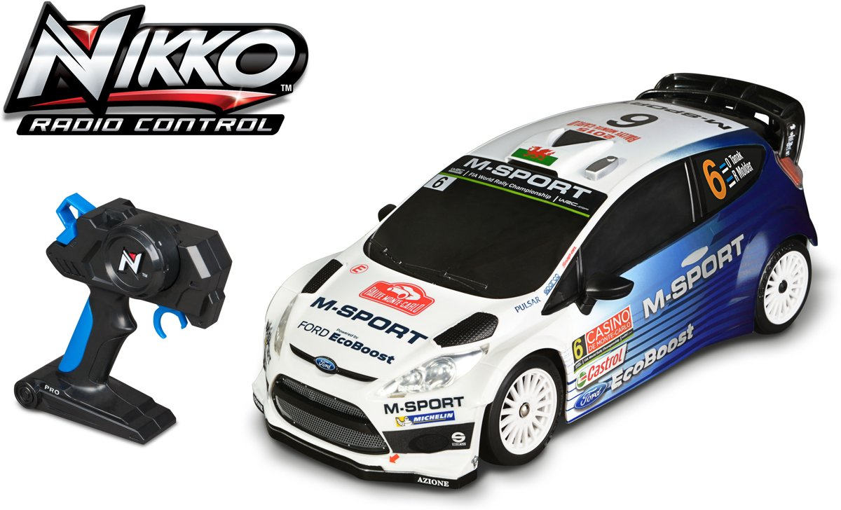 Nikko Ford Fiesta - Bestuurbare auto