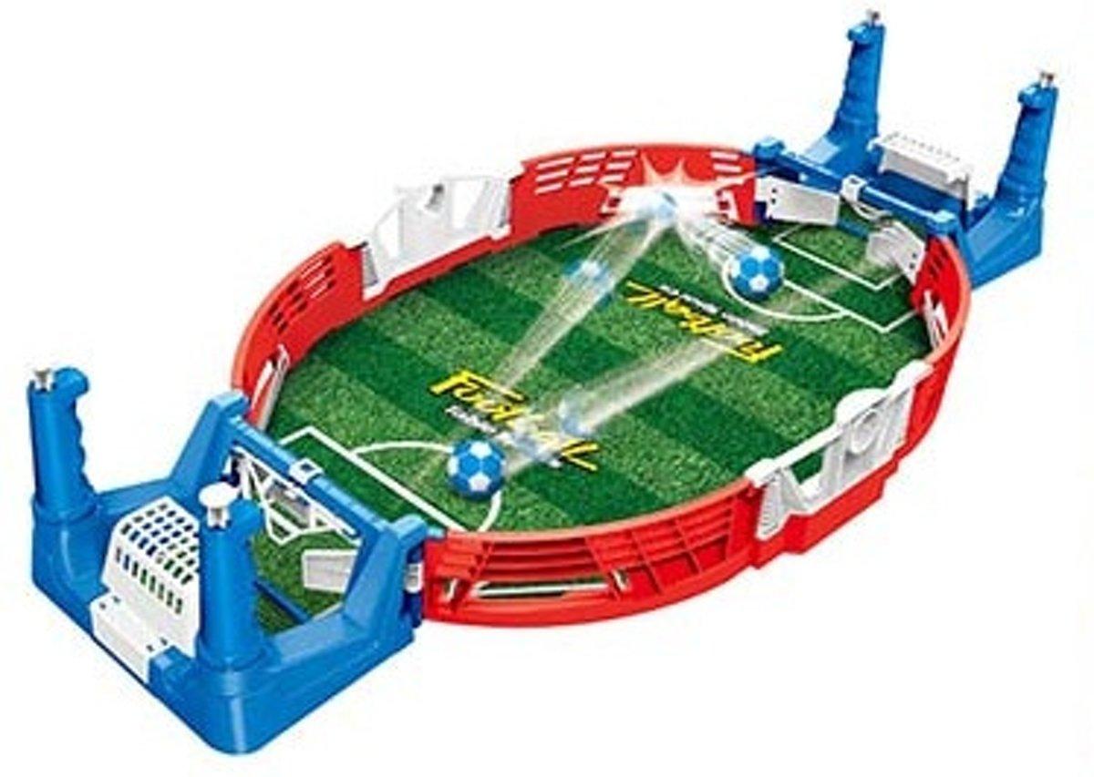 Toi-toys Mini Tafelvoetbalspel Blauw/rood 38 X 18 X 3,5 Cm