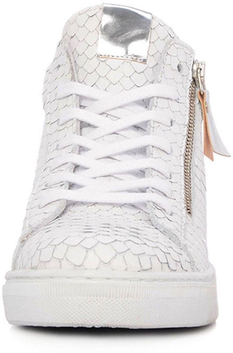 65c1662fb30 bol.com   SPM Witte Hoge Dames Sneakers Santander