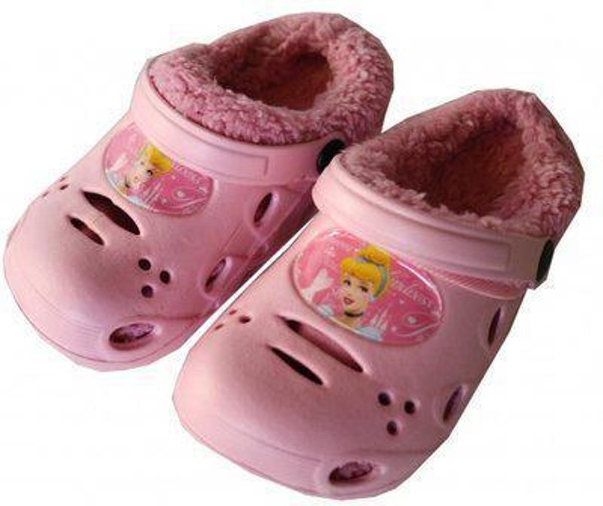 Disney Princess Pantoffelklompje licht roze - maat 28 kopen