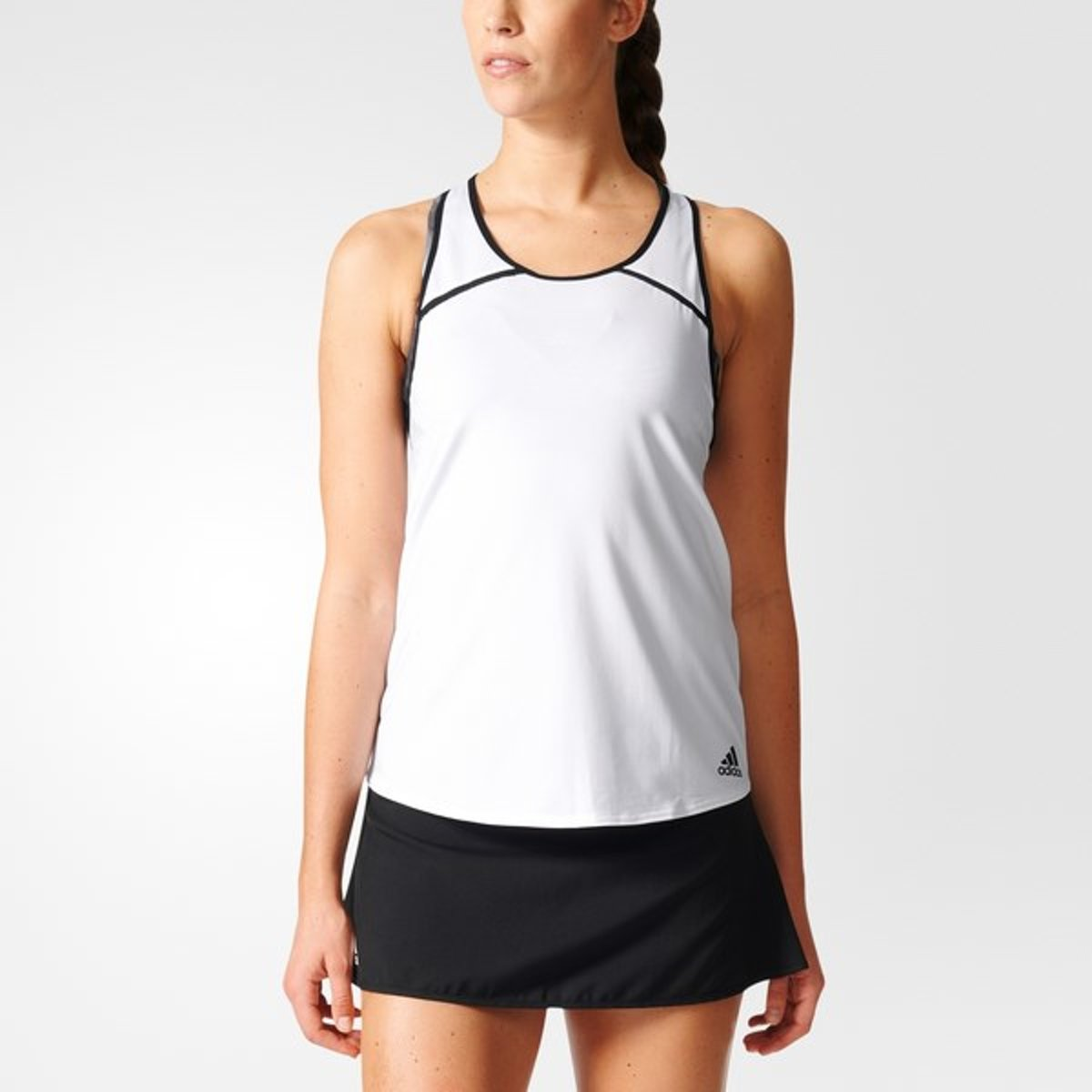 adidas Club Tank - Sportshirt - Dames - XS - White thumbnail
