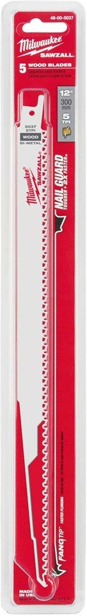 Milwaukee reciprozaagblad  300 / 4,2mm  (5st)