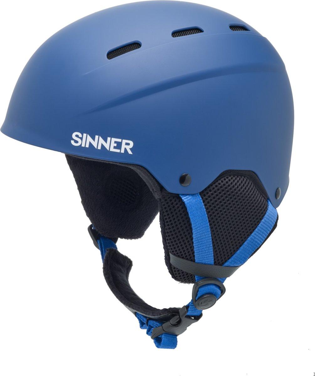 Sinner Poley - Skihelm - Kinderen - 53-54 cm / Maat XS - Blauw kopen