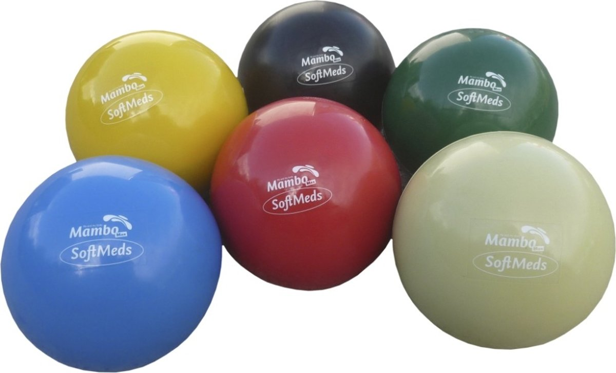 Gewichtbal SoftMed diameter 12cm; 2,5 kg - blauw kopen