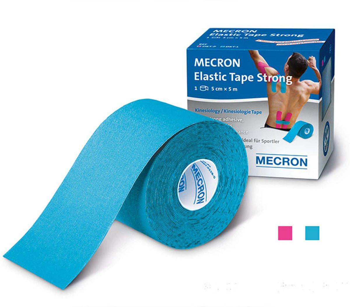 Darco Kinesiotape Sporttape Sterk | Waterbestendig | Sportblessures | Fysiotherapie | Licht Blauw Lengte 5M kopen