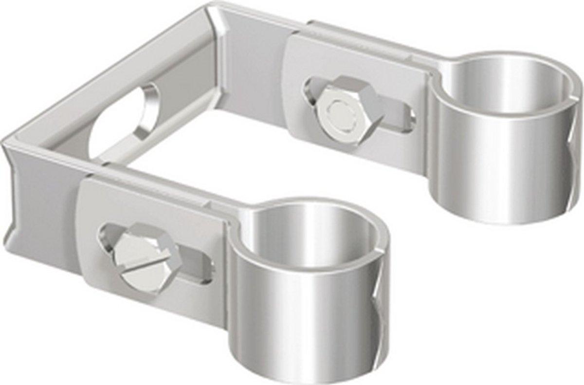 FLAM dubb pijpbeugel DP, uitw buisdiam 15 - 16mm, pijpbeugel staal kopen