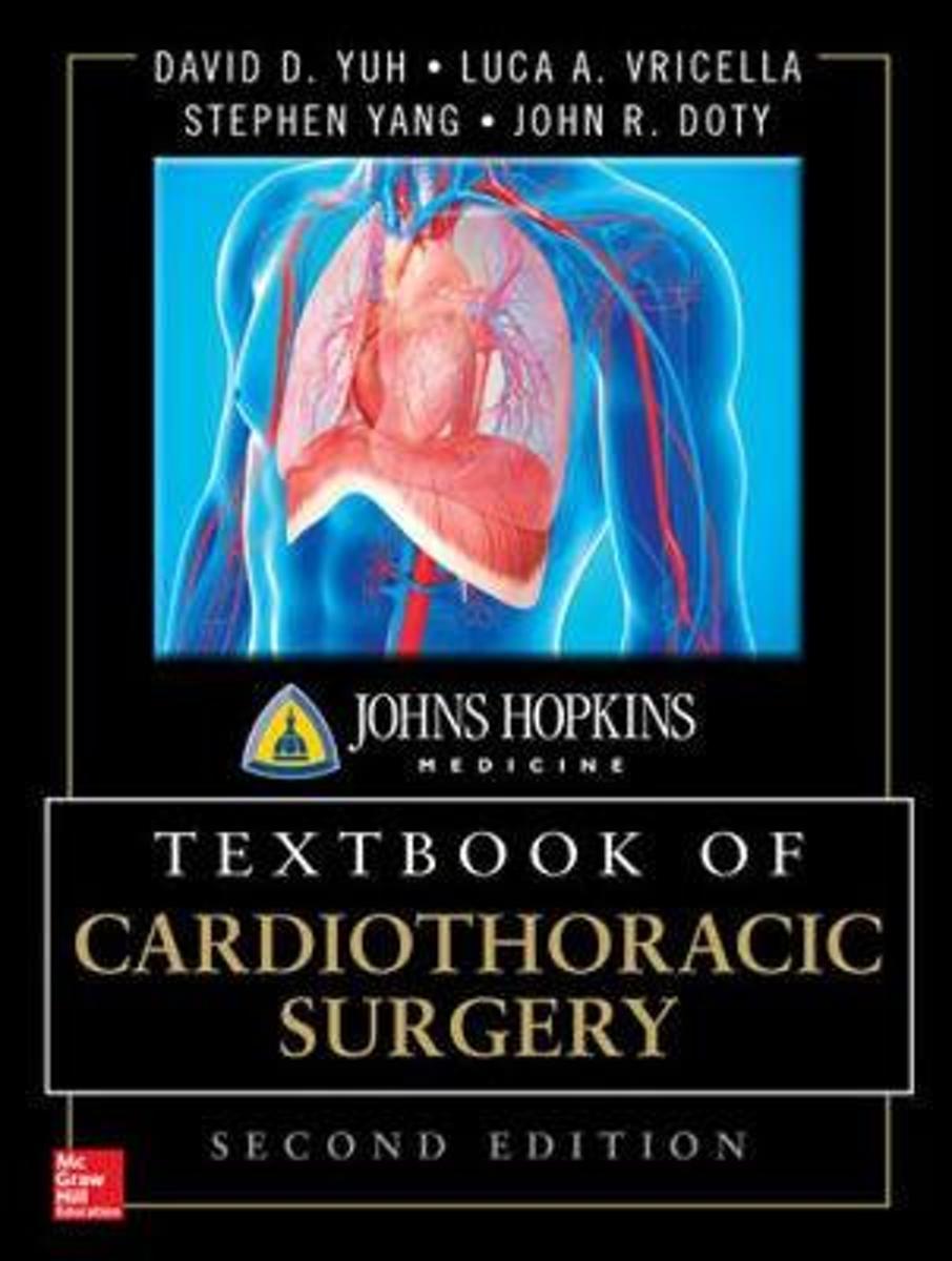 bol.com   Johns Hopkins Textbook of Cardiothoracic Surgery, Second Edition    9780071663502  .